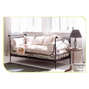 ferforje divan kanepe koltuk minderli