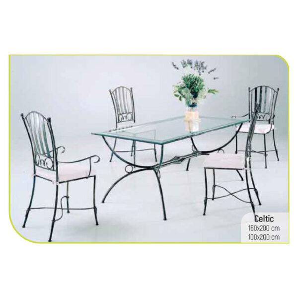ferforje masa sandalye takımı