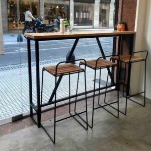 ferforje cafe masa sandalye