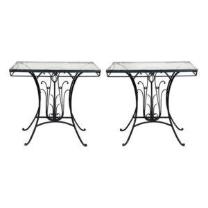 demir mutfak masası