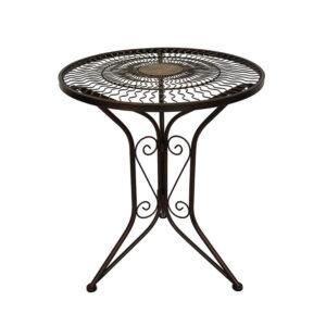 ferforje bahçe masası