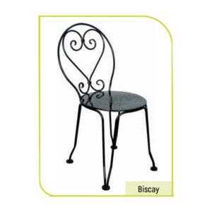 ferforje papatya sandalye