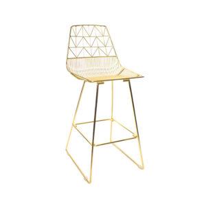 gold bar tipi sandalye