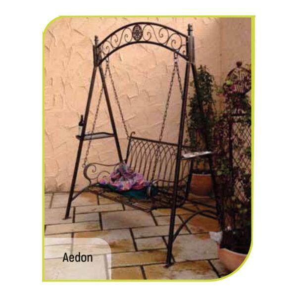 iki kişilik bahçe ve balkon salıncağı