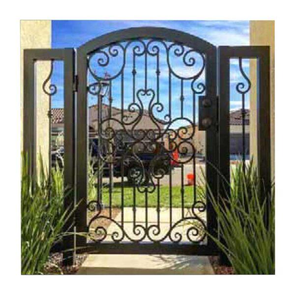 ferforje villa bahçe kapısı