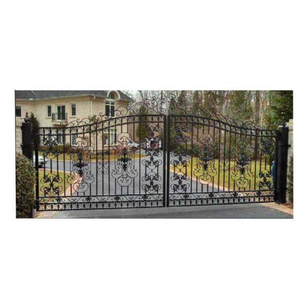 ferforje villa bahçe kapı