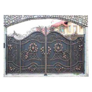 ferforje demir bahçe kapısı