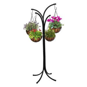 ferforje askılı çiçeklik