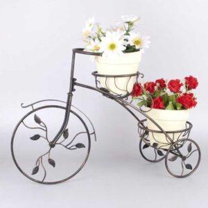 ferforje bisiklet çiçeklik