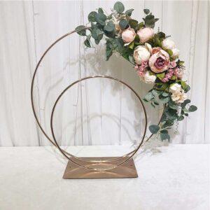 ferforje düğün vazo stand