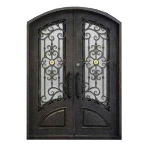 ferforje apartman kapısı